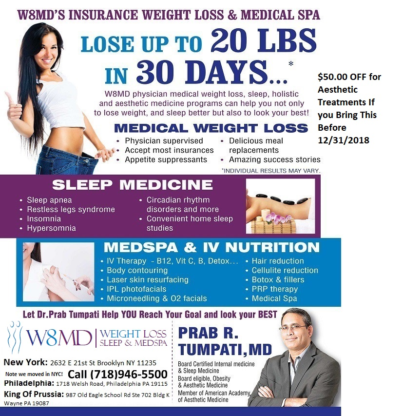W8MD Weight Loss, Sleep & MedSpa Services
